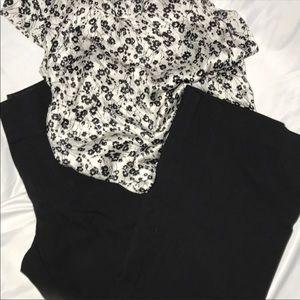 Maurice's Black Trouser 13/14S B06